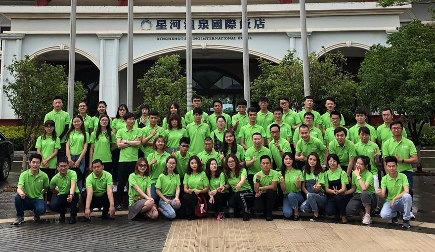 酷森科技三周年庆典在昆明寻甸成功举办