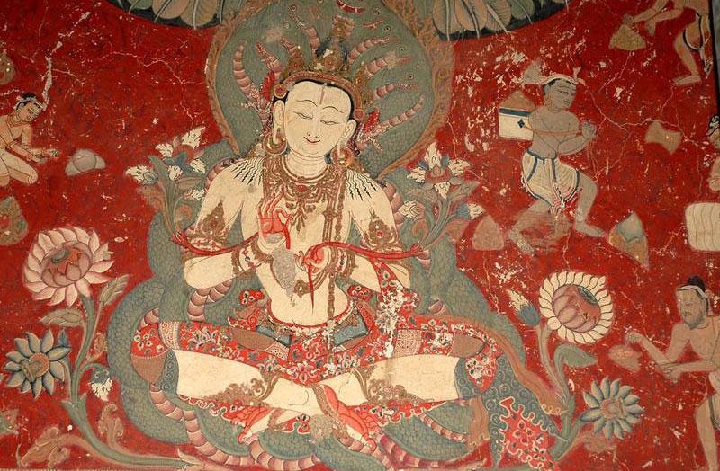 藏传佛教壁画、唐卡及酥油花