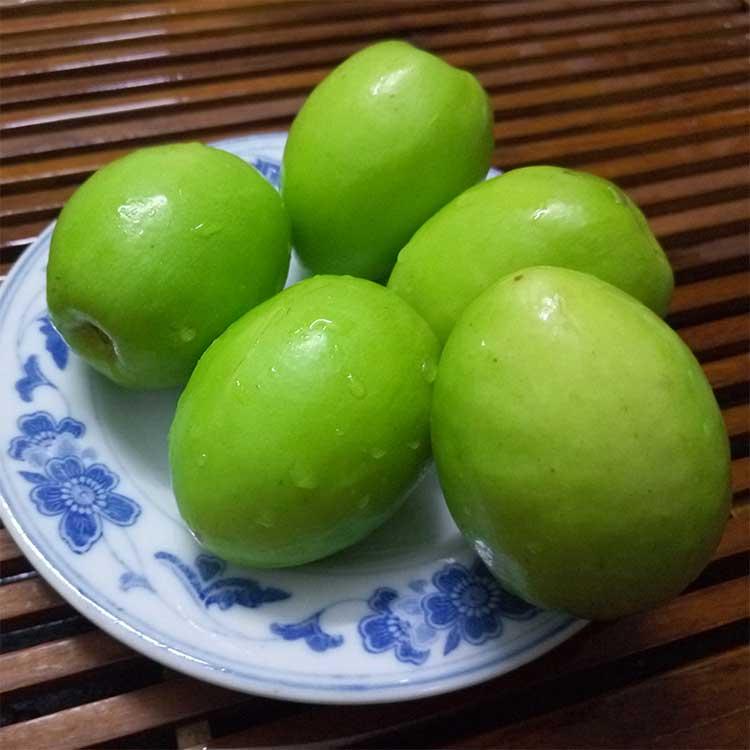 新鲜水果现摘现发牛奶贵妃枣鸡蛋果 青枣