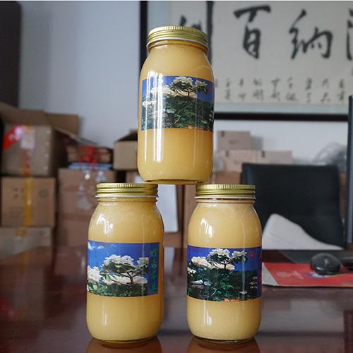 (百花蜜)瓶装1000克,价格260一瓶