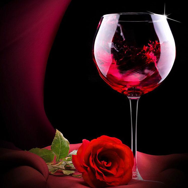 玫瑰蜜干红葡萄酒
