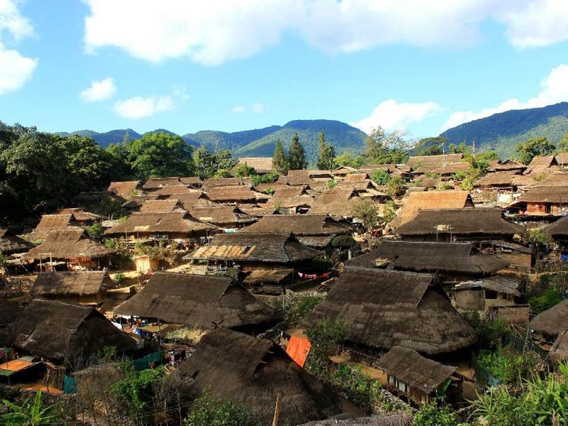 南美拉祜族鄉|拉祜族文化的避世古村落