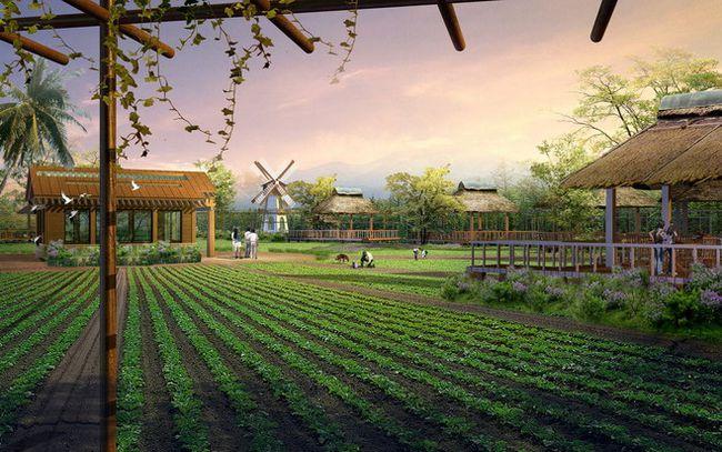 现代农业观光园区规划
