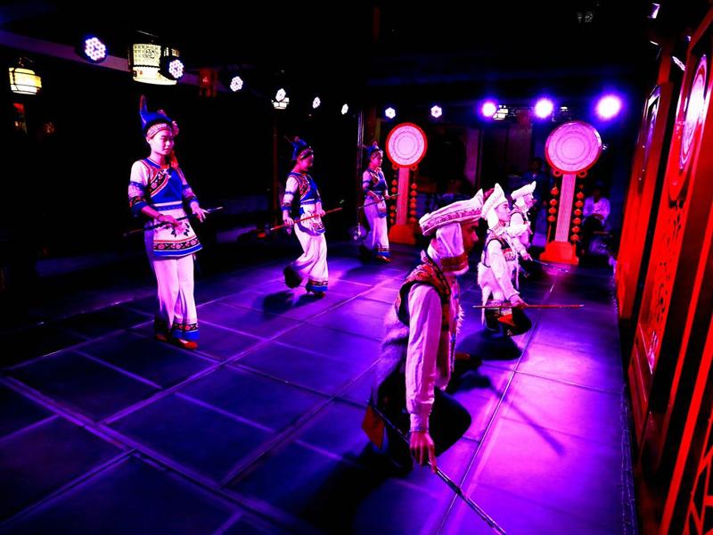 云南大理民族舞蹈走出国门迈向世界