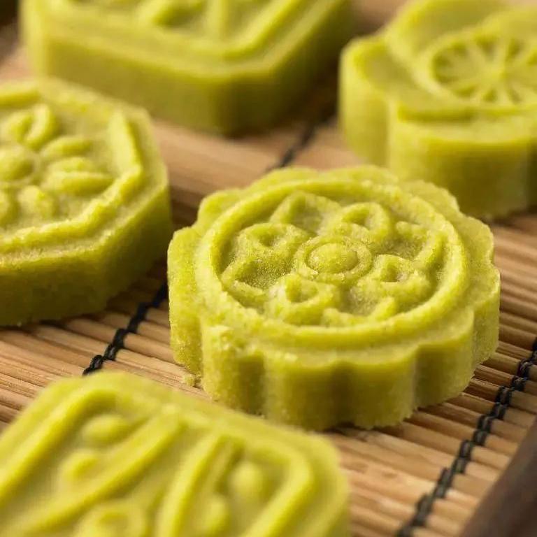 苏式绿豆糕