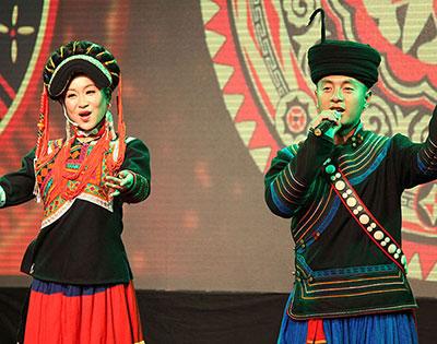 彝族歌·舞·乐