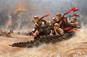 红军浴血战沾益