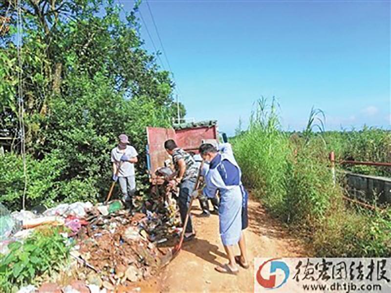 隴川縣住建局扎實開展愛國衛生專項行動