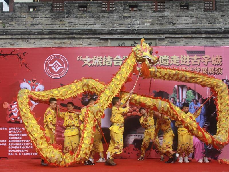 马关县非遗文化进景区 文旅融合促传承