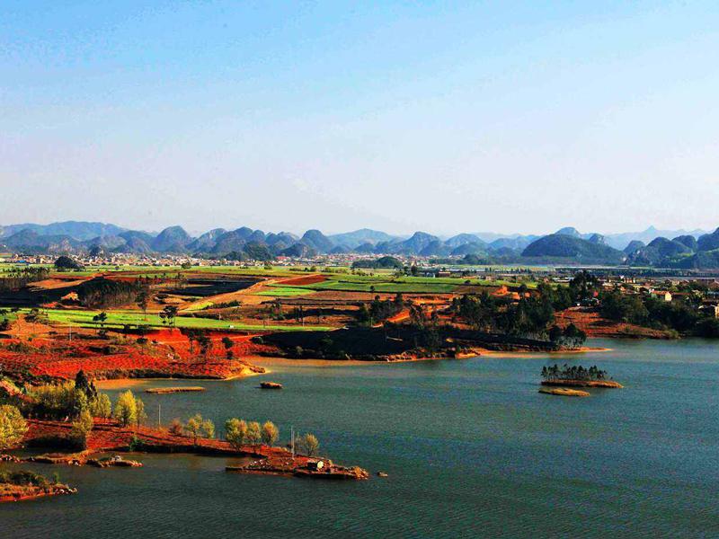 云南普者黑,一个自然美好的风景,世外桃源