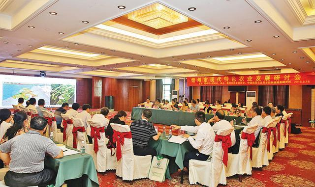 我市召开现代特色农业研讨会 专家学者为儋州农业发展支招