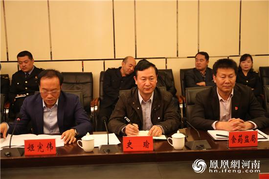 省食品安全省建设调研组到渑池县调研食品安全示范县创建工作