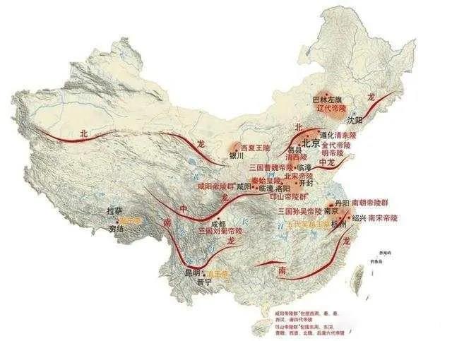中国龙脉探析