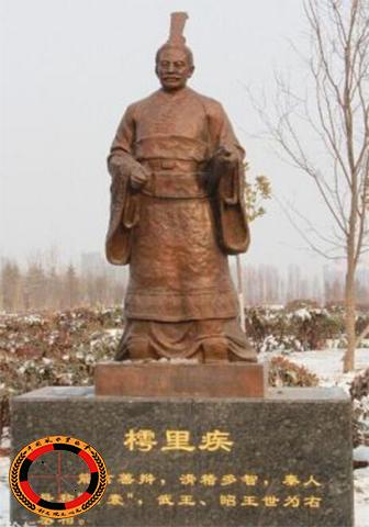 【战国】樗里子:战国时期秦国宗室将领