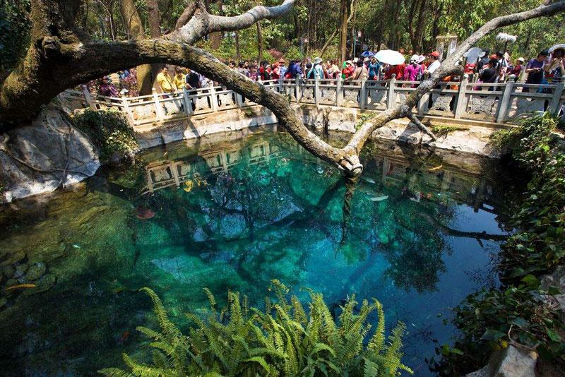 云南这个景点成为旅游胜地,美景存在传说中,还要60元门票