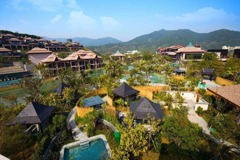 云南旅游记,这里酒店是住在森林里面,独特而美丽
