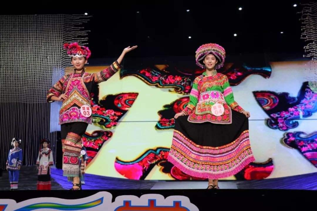 昭通民族服饰惊艳七彩云南民族赛装文化节