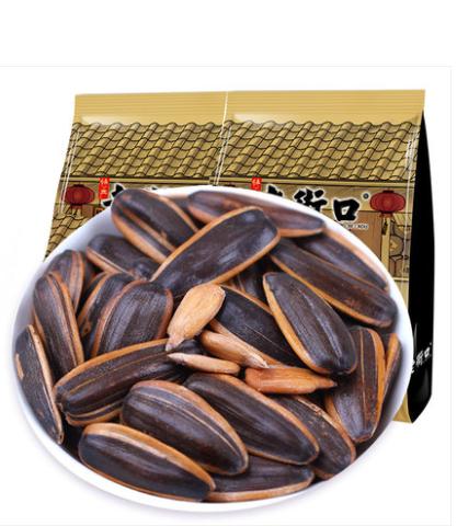 老街口焦糖味瓜子500gX4山核桃味葵花籽散装包装小吃零食炒货批发
