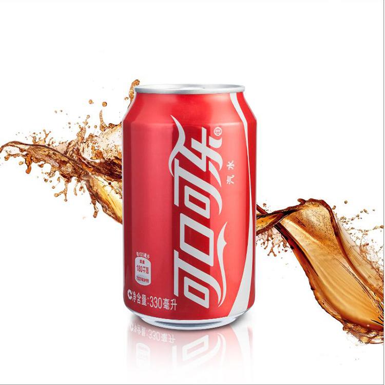 可口可乐汽水日期新鲜听装330ml
