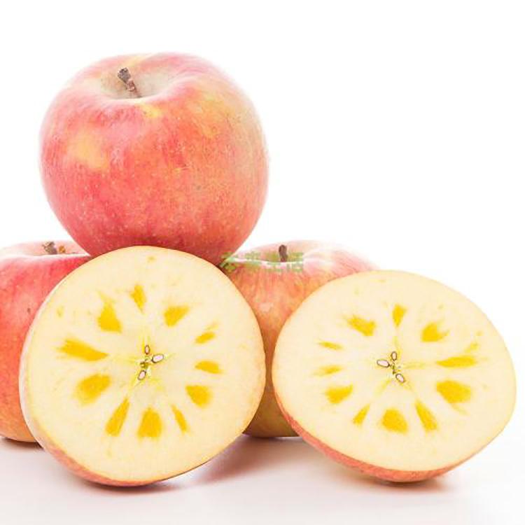 现摘云南昭通冰糖心野生丑苹果孕妇脆甜苹果新鲜应季水果