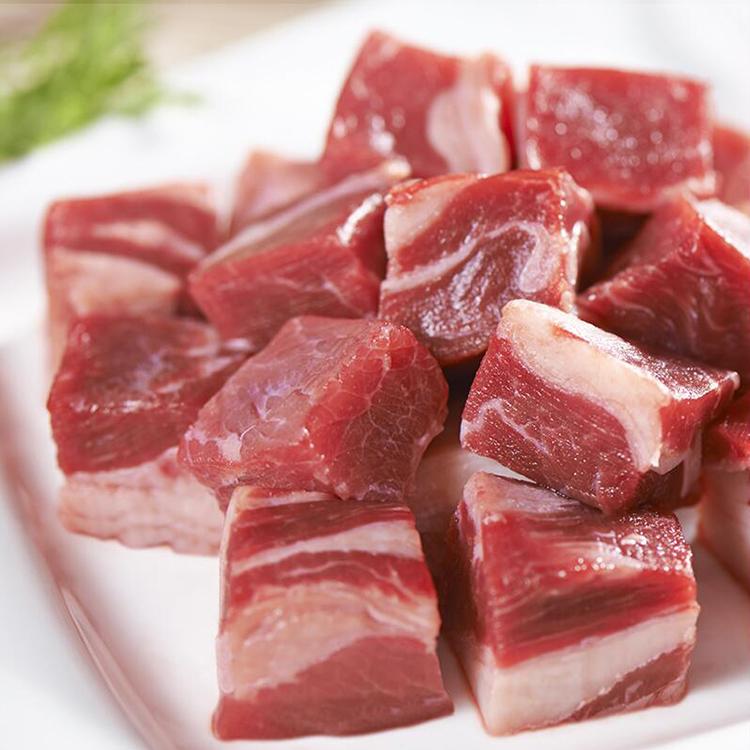 新鲜牛腩肉生牛肉 屠宰无油干净新鲜牛肉红烧生牛肉