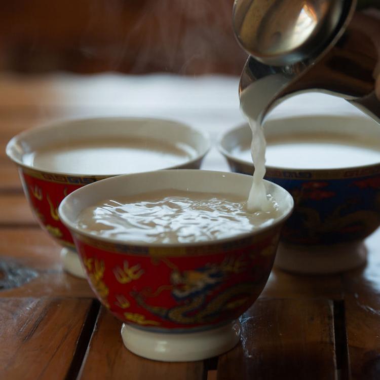 香格里拉纯牦牛酥油茶饼食用级 藏家食用酥油茶专用