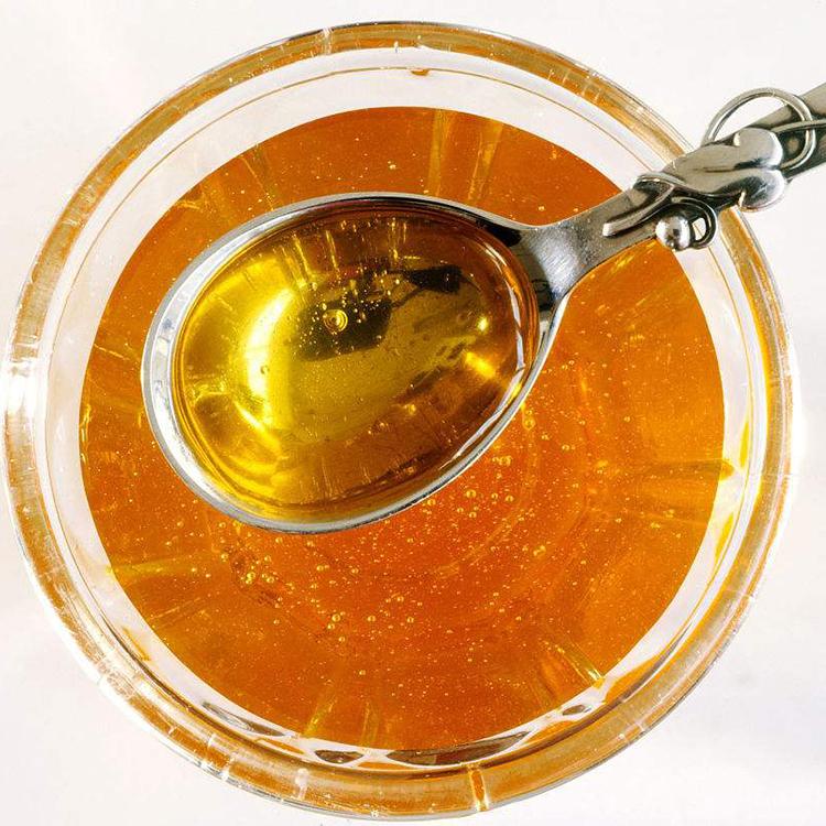 纯正天然农家自产深山野生木桶老巢蜜百花结晶土蜂蜜